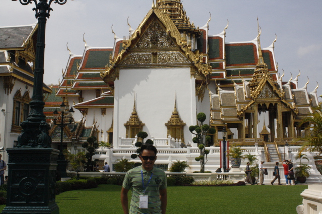 NATIONAL SYMBOL. The Grand Palace is used during official ceremonies and state functions