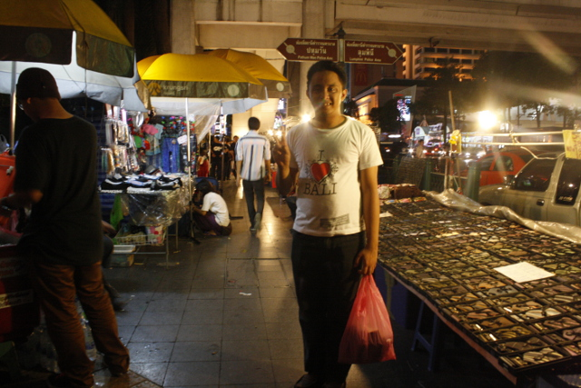 ART OF HAGGLING. The best places for bargain prices are the street shops
