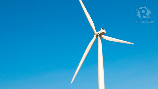 MORE POWER. A new wind farm in Ilocos is coming in 2015. Photo by Michael Josh Villanueva.