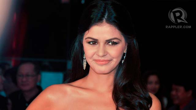 Janine Gutierrez, daughter of Lotlot de leon