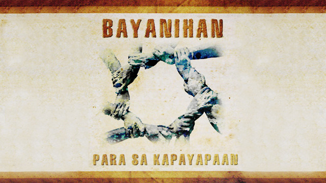 BAYANIHAN. The cover image of the Bayanihan single