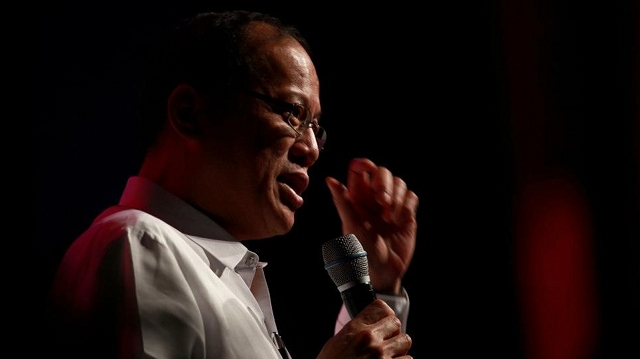 THE ROAD TO URGENT. President Benigno Aquino III came a long way in expressing support for the controversial Reproductive Health bill. File photo by Malacañang Photo Bureau