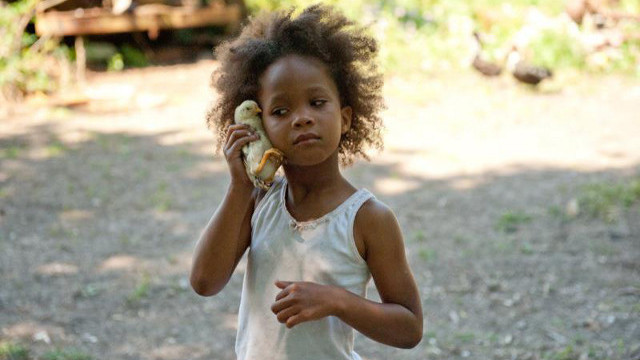 WHO'S THAT GIRL? Quvenzhané Wallis as the tender yet tough 'Beasts of the Southern Wild' child. Photo from the movie's Facebook page