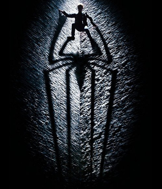 Movie poster from the 'The Amazing Spiderman' Facebook page