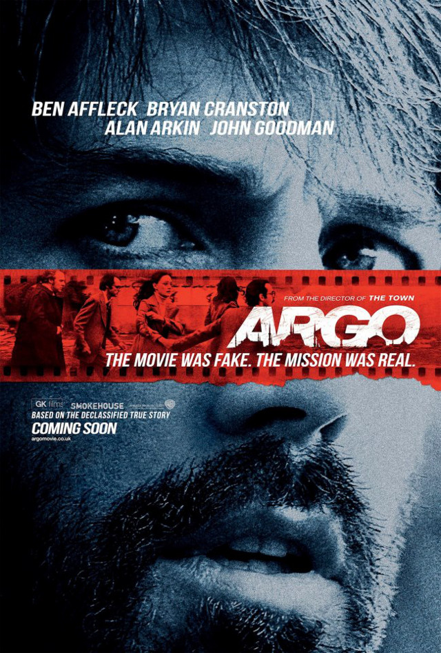 Movie poster from the 'Argo' Facebook page
