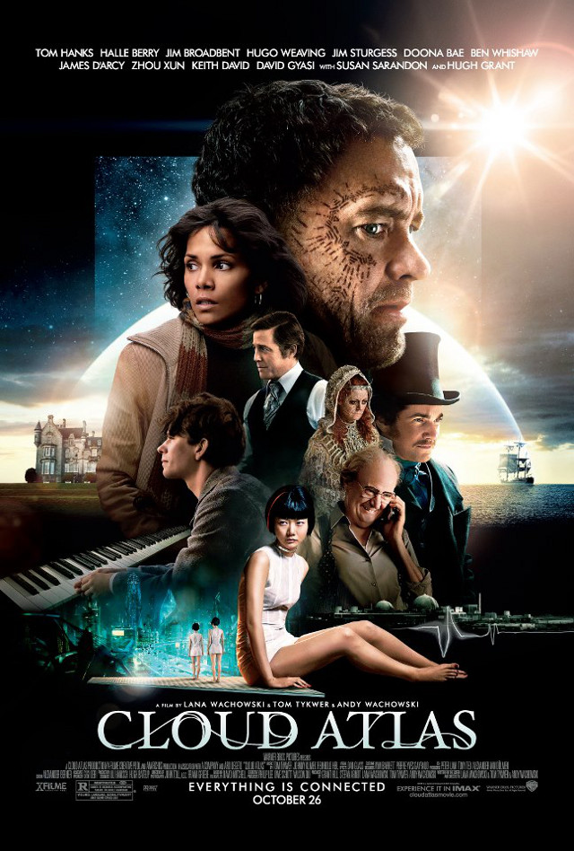 Movie poster from the 'Cloud Atlas' Facebook page