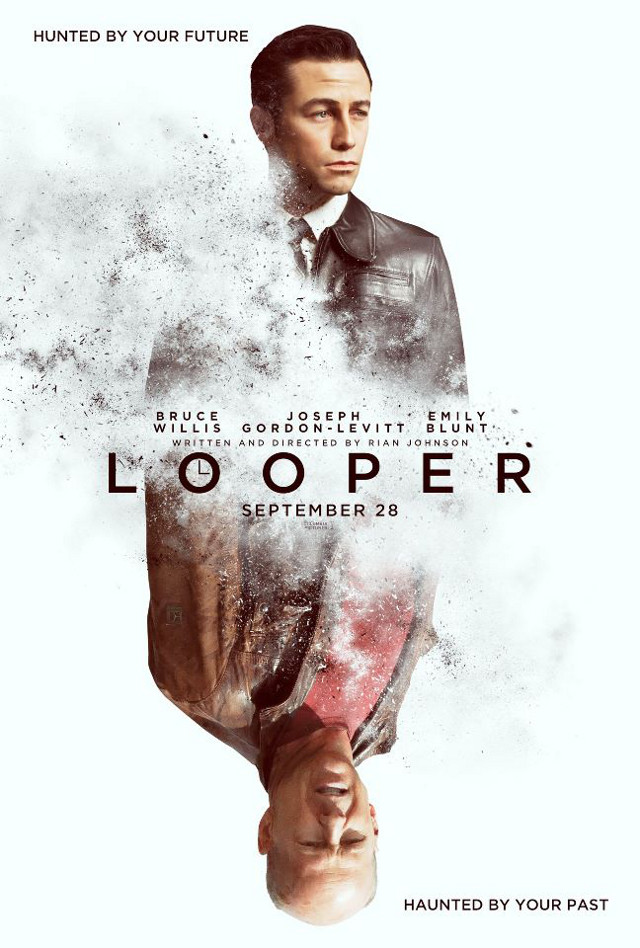 Movie poster from the 'Looper' Facebook page