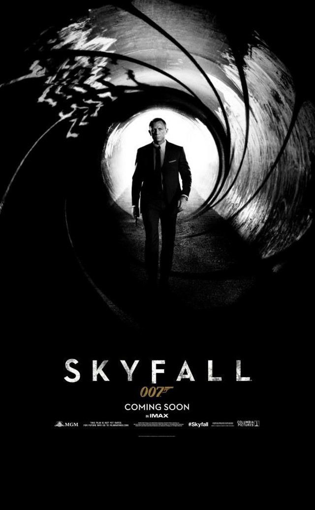 Movie poster from the 'Skyfall' Facebook page