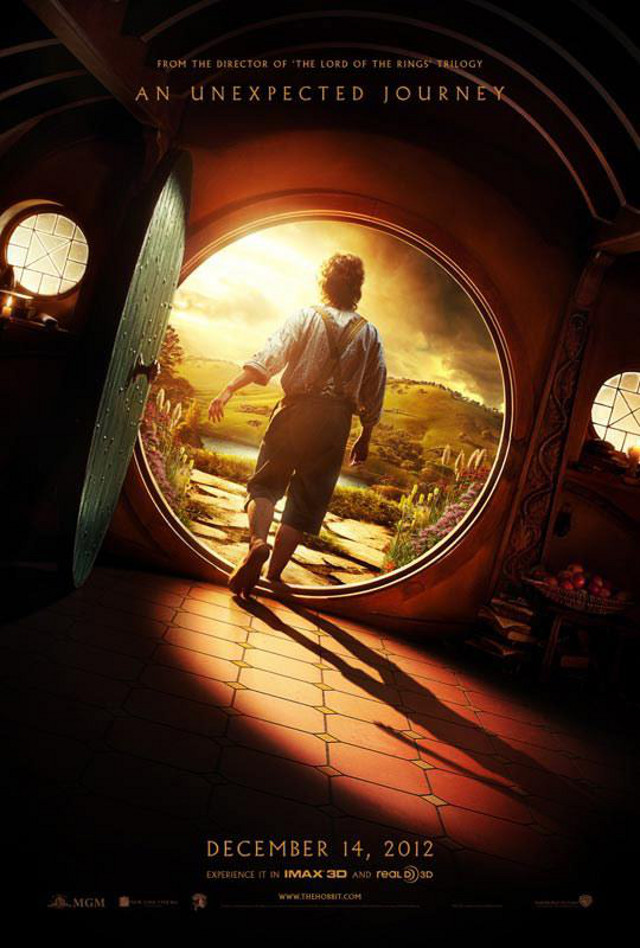 Movie poster from the 'The Hobbit' Facebook page
