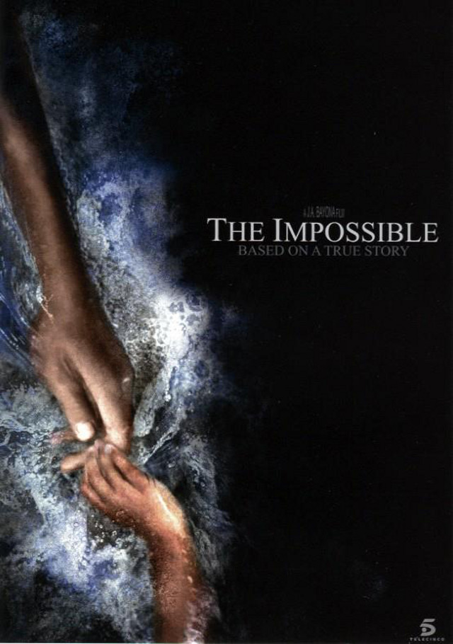 Movie poster from the 'The Impossible' Facebook page