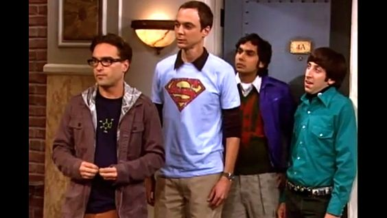 GEEKS REIGN SUPREME. Johnny Galecki, Jim Parsons, Kunal Nayyar and Simon Helberg of 'Big Bang Theory.' Screen grab from YouTube