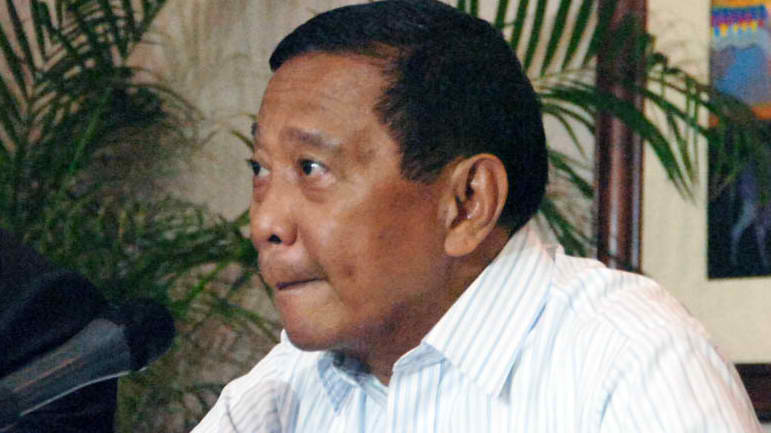 UNA SHOWS FORCE. Binay flew to Cebu to show support for Garcia, an ally from UNA. 