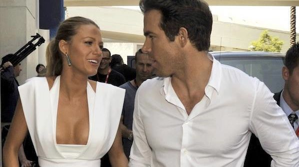 BLAKE LIVELY AND RYAN Reynolds are now officially Mr. and Mrs. Ryan Reynolds. Image from Facebook
