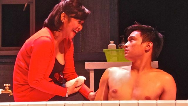 BONA AND GINO's TUB scene