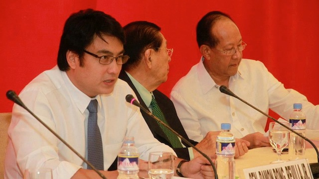PRESIDENTIAL BET. Lakas-CMD grooms Sen Bong Revilla to become the party standard bearer in 2016. File photo from Revilla's Facebook account.