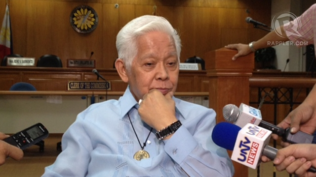 PARTY-LIST PURGE. Comelec Chair Sixto Brillantes Jr led the unprecedented purge of party-list groups. Photo by Paterno Esmaquel II