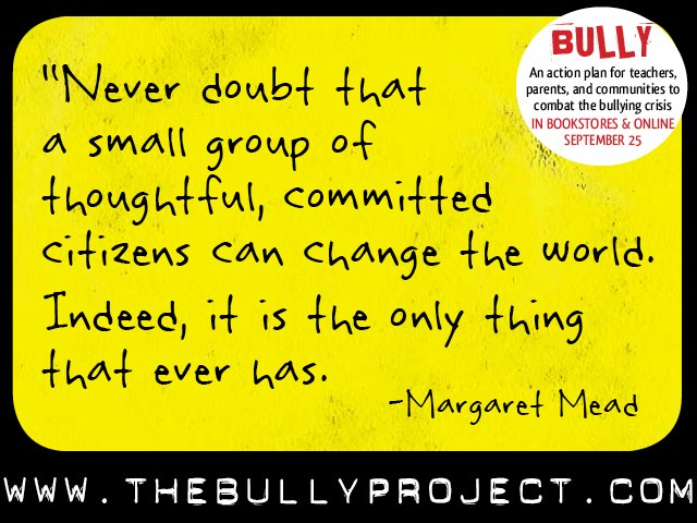 JOIN THE MOVEMENT. Visit The Bully Project - Philippines Facebook page. Image from The Bully Project on Facebook