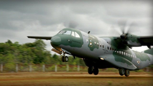 BRAND NEW: Spanish firm EADS/Casa -Airbus Military is the lone eligible bidder for military's brand new aircraft. Photo from the company website