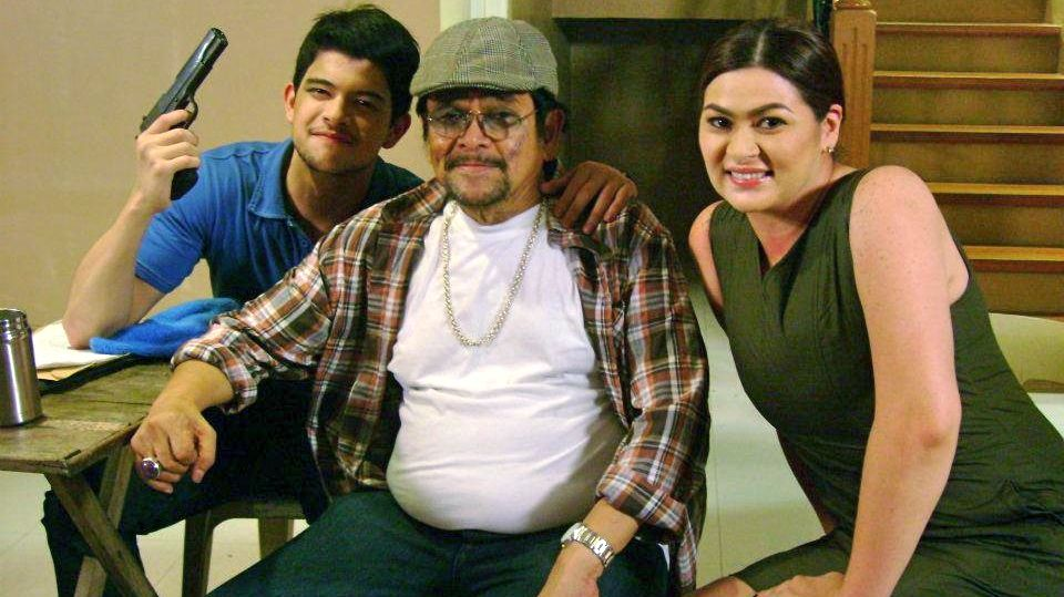 FAREWELL, 'MESSIAH.' Celso Ad Castillo (middle) with Rayver Cruz and Aiko Melendez. Image from the director's Facebook page