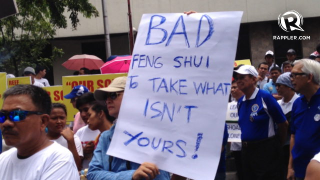 BAD LUCK. Marimi de la Fuente says China's territorial incursion is 'bad feng shui.' Photo by Rappler/Paterno Esmaquel II