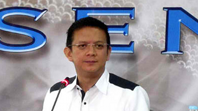 SPECIAL CASE? Senate President Juan Ponce Enrile says Sen Francis Escudero will join UNA but will not be required to join campaign rallies. File photo from Senate website