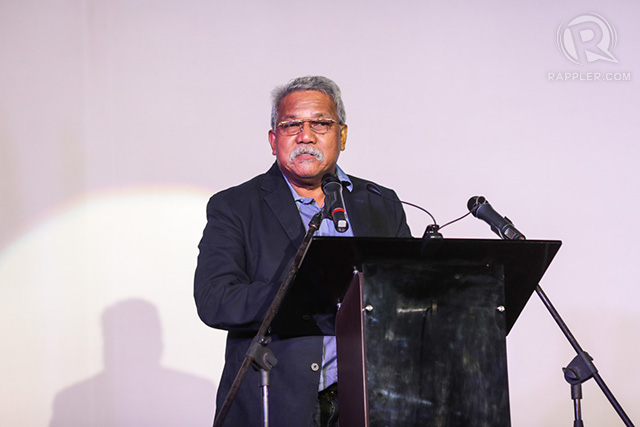 Cinemanila founder Amable 'Tikoy' Aguiluz