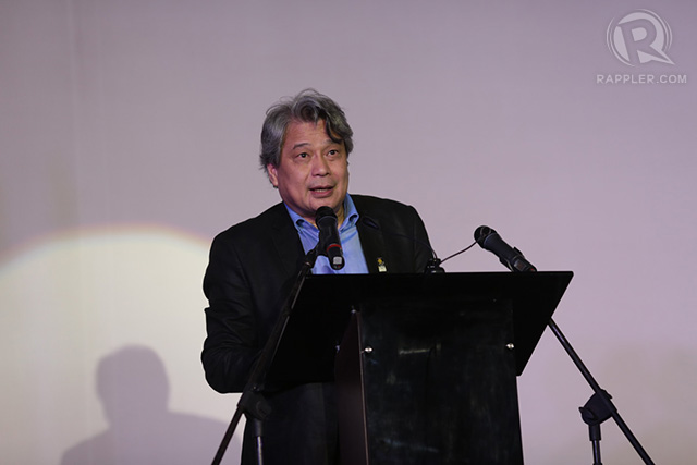 Film Development Council of the Philippines Chairman Briccio Santos