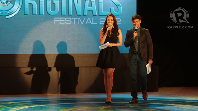 Megan Young and Matteo Guidicelli hosted the program