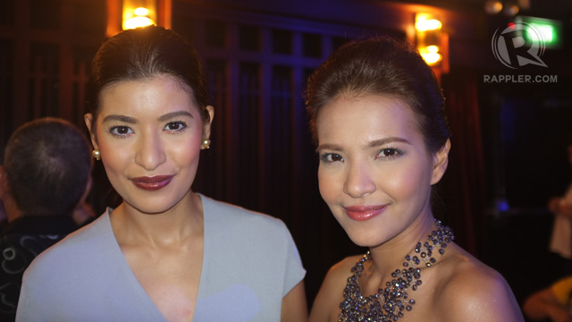 'BAYBAYIN' SISTERS. Assunta and Alessandra de Rossi, stars of Auraeus Solito's second film in the Palawan trilogy. All photos by Edric Chen