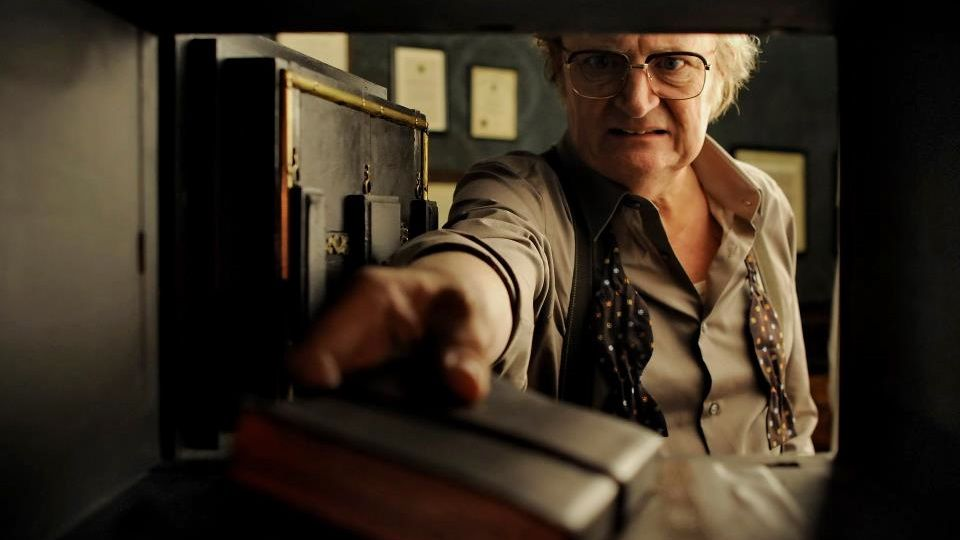 Jim Broadbent. Image from the movie's Facebook page
