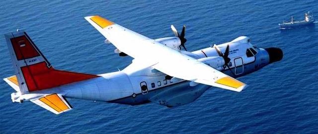 DISQUALIFIED: Indonesia's CN235-220 Maritime Patrol Aircraft. Photo from company website http://www.indonesian-aerospace.com/view.php?m=product&t=aircraft-detil&id=2
