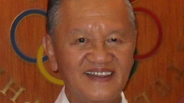 FOUR MORE. Philippine Olympic Committee President Peping Cojuangco will stay four more years as head of the committee as he runs for re-election unopposed. Photo form POC.