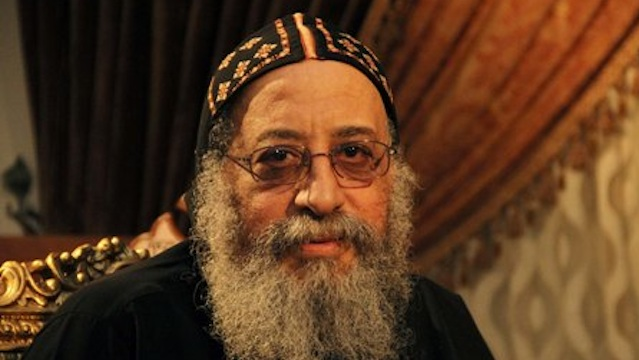 NEW POPE. Bishop Tawadros. Photo courtesy of MCN Middle East Christian News