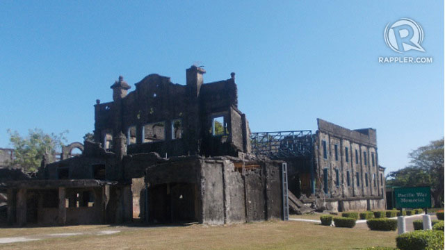 HAUNTING ISLAND. The remains of a cinema on Corregidor island. All photos by Peter Imbong