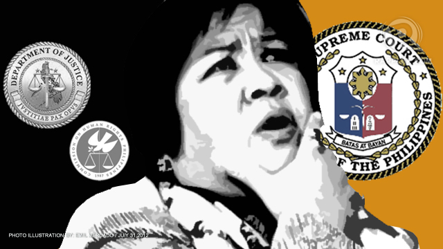 CHOSEN ONE? Is Justice Secretary Leila de Lima, reportedly a top choice of President Aquino, qualified to be Chief Justice?
