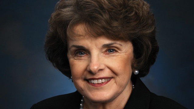 GUN CONTROL. US Senator Dianne Feinstein wants assault weapons banned after the Connecticut shooting tragedy. Photo from her official website