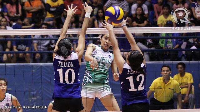 DLSU wins over Ateneo in UAAP women's volleyball