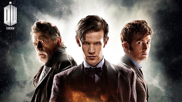50th year anniversary doctor who