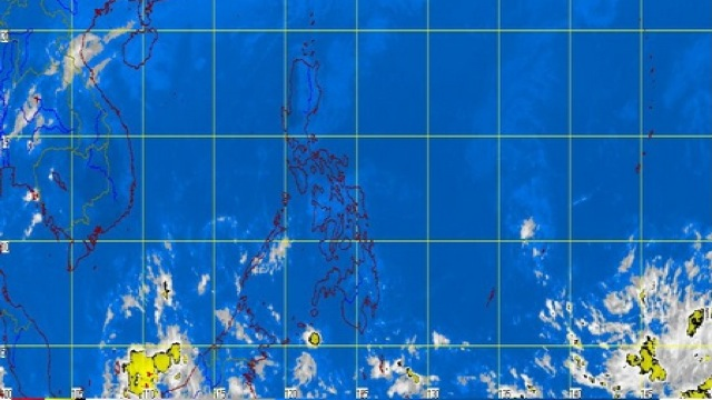 SATELLITE IMAGE. Snapshot as of 11:00 am, Saturday, February 9 from DOST-PAGASA.