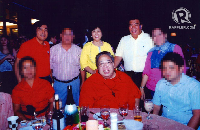 Franklin Drilon with Napoles