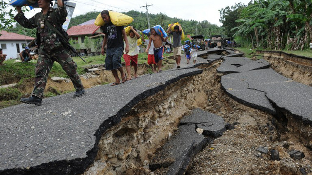 MAP Strongest Earthquakes In The Philippines