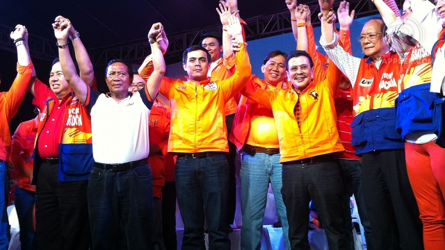 'HABEMUS MAYOR.' Vice Mayor Isko Moreno says it is about time Manila has a new mayor: former President Joseph Estrada. Photo by Rappler/Ayee Macaraig