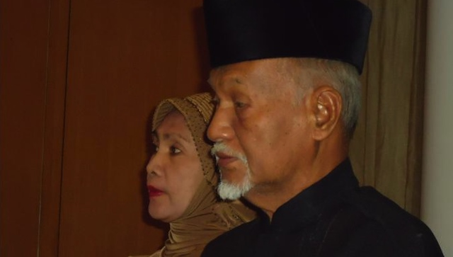 SULU ENVOY. Esmail Kiram III, brother of both the Sulu sultan and the Sabah standoff leader, wants to travel to Malaysia to discuss how to end the crisis. Photo by Jerald Uy