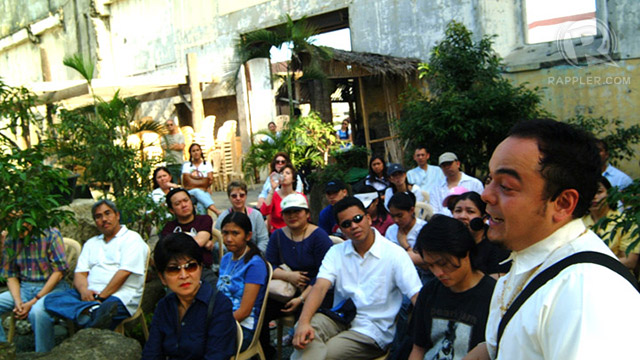 50% to 60% of Celdran's walking tour guests are Filipinos