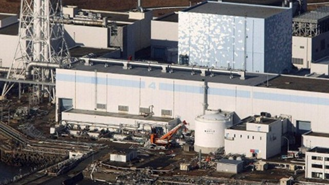 DISASTER. An aerial view shows the quake-damaged Fukushima nuclear power plant in Japan on March 12, 2011. Photo by AFP