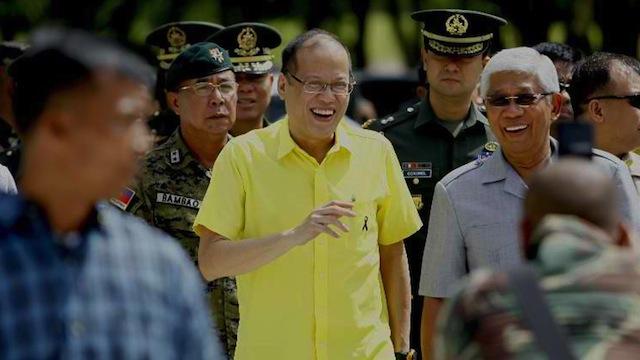 WEDDING SPONSOR: The late Senator Ninoy Aquino was a wedding sponsor when Defense Secretary Voltaire Gazmin got married