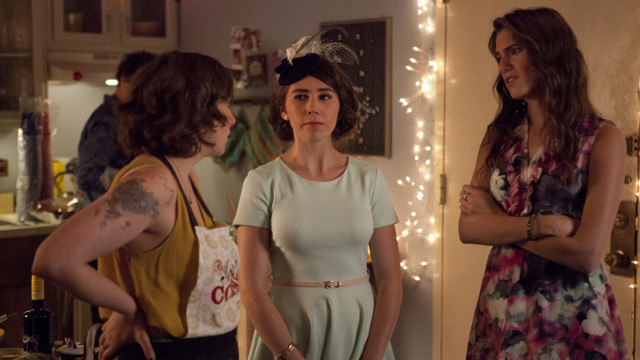 "THE ""GIRLS"" ARE BACK. Lena Dunham, Zosia Mamet and Allison Williams play twenty-somethings in New York City. Photos courtesy of HBO Asia"