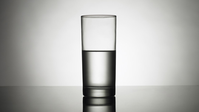 HALF EMPTY OR HALF FULL? German study says pessimists live longer.