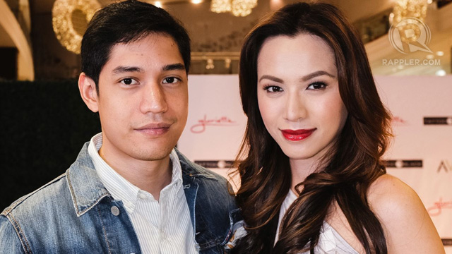 Victor Basa and Divine Lee