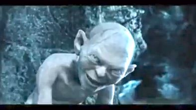 'MY PRECIOUS.' Lord of the Rings' Gollum is happy to be part of the list. Screen grab from YouTube (Jonathan Keogh)